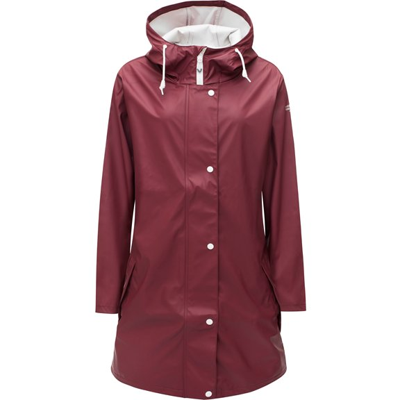 Weather Report PETRA RAINCOAT MAROON