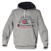 Champion HOODED SWEAT GREY MELANGE