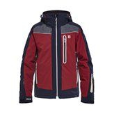 8848 ZAMSAR JR JKT NAVY/RED