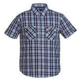 Tuxer RINGO SHIRT BLACK CHECK