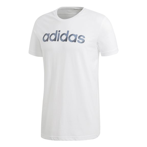 Adidas SLICED LINEAR TEE WHITE