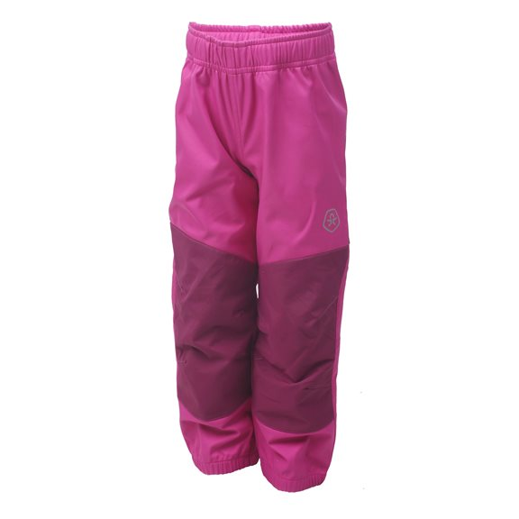 Color Kids VONGA SOFTSHELL PANTS FUCH