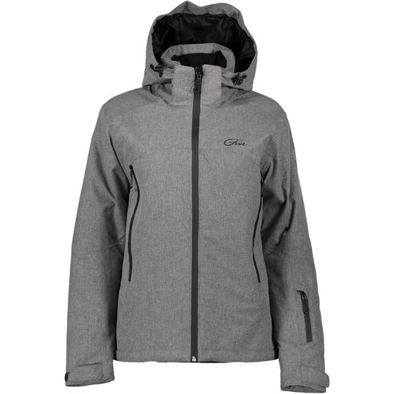 Five Seasons AVORIAZ W JKT GREY MELANGE