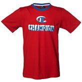 Champion ATHLETIC JR TEE RED