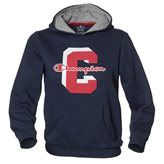 Champion HOODED JR SWEAT BLUE