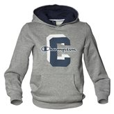 Champion HOODED JR SWEAT GREYMEL