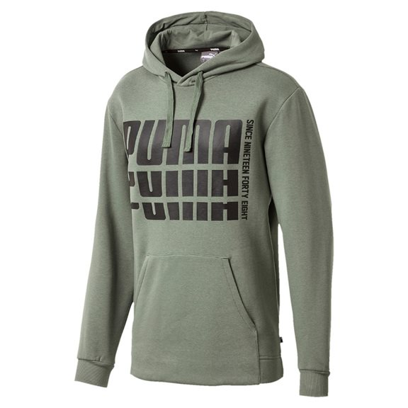 Puma REBEL BOLD HOODY GREEN