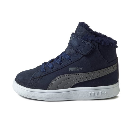 Puma SMASH V2 MID INF FUR NAVY