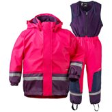 Didriksons BOARDMAN KIDS SET CERISE
