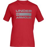 Under Armour TEAM ISSUE WORDMARK TEE RED