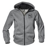 Puma STYLE HOODED JR JKT GREY