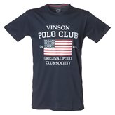 Vinson Polo Club JAN T-SHIRT DARK SAPHIRE