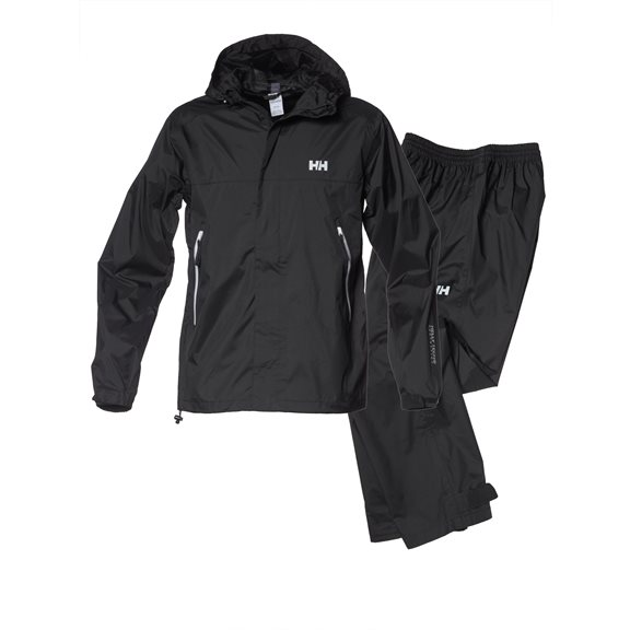 Helly Hansen LYSEFJORD RAIN SET BLACK