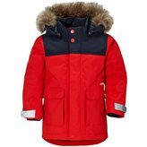 Didriksons KURE KIDS PARKA RED