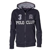 Vinson Polo Club JEFF JR FZ HOOD NAVY