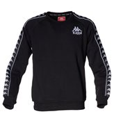 Kappa BZABAD CREW SWEAT BLACK