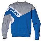 Umbro VINTAGE PANELLED CREW BLUE
