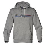 Champion HOODED GRAPHIC AUTH GREY