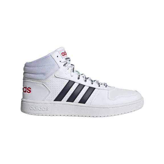 Adidas HOOPS 2.0 MID WHITE/NAVY